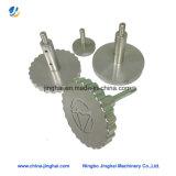 Parafuso de usinagem CNC de alumínio / metal não padrão com cabeça redonda