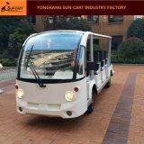 14のシートの電気観光バス