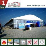 алюминий формы купола ширины 40m и рамка PVC шатер с высотой 8m бортовой для напольных выставки и случаев