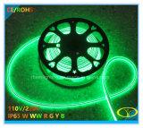 세륨 RoHS 증명서를 가진 230V IP65 실리콘 LED 네온 코드