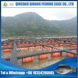 Rahmen-Fischzucht-System mit HDPE Rohr PET Netz