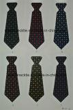 Haute qualité Jacquard en soie tissée, cravate en polyester Cravate pour hommes