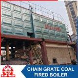 Caldaia a vapore infornata carbone orizzontale industriale del Doppio-Timpano dello SZL 8-1.0MPa