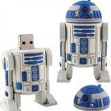 자석 플라스틱 상자를 가진 고품질 8g 중요한 모양 USB 섬광 드라이브