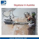 Horizontal Abajo el agujero de perforación de la máquina para el granito