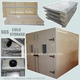 Réfrigérateur d'intérieur et promenade de chambre froide de taille moyenne dans le congélateur