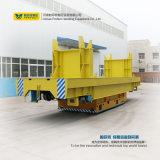 Manipulação material de aço de transferência do veículo de trilho de 10 bobinas da tonelada
