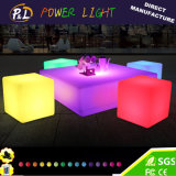 Garden Home Light Up Colorful LED Cube Table