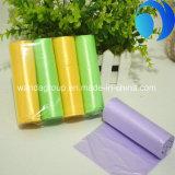 色刷の包装の最も熱い販売の生態学的で明白なプラスチックごみ袋