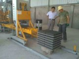 Vliegas qft3-20 (Handboek) Blok die Machine maken