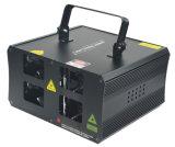 Новый лазерный луч полного цвета RGB 4 головок