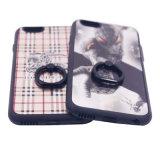 a caixa colorida do telefone de pilha de 3D TPU personalizou para o caso 6 6splus 7 7plus do iPhone (XSDW-070)
