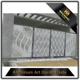 Extravagantes Aluminiumzaun-Gatter
