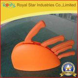 La lama di cucina dell'acciaio inossidabile del rifornimento 6PCS della fabbrica ha impostato con il supporto di plastica (RYST0116C)