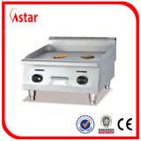 Gaz de gauffreuse de contre- dessus d'acier inoxydable avec des pattes réglables, gauffreuse pour la bonne qualité de cuisine commerciale