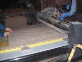 Введенная в моду дверь PVC MDF стеклянного интерьера деревянная (дверь PVC деревянная)