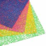 PE Placemat van de Uitdrijving van kleuren voor Tafelblad & Bevloering