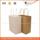 Zak van het Document van Kraftpapier van de Druk van China de Beste Fabriek Aangepaste Gemaakte