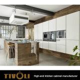 Het de eiken Keukenkast van het Ontwerp van het Kabinet van het Vernisje van het Rozehout en Meubilair van de Keuken (AP152)