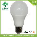 Lampadina dell'indicatore luminoso di lampadina del LED A60 Aluminum+Plastic LED