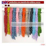 Lenço longo do agente de exportação de China Yiwu do lustre do lenço do poliéster (C1029)