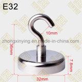 D32mm de Houder van de Magneet van de Pot met A3 het Geval van het Staal