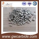 Ponta de serra de carboneto de tungstênio K10 / K20 para corte de madeira
