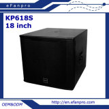 Factory Supply Single 18 Inch Professional Subwoofer Bass Woofer (KP618S - TACT)