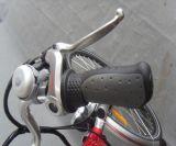 """28 """" 250Wモーター都市様式の赤い電気バイク(JSL036A)"""
