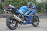 bici di corsa blu Moto caldo di 150cc 250cc