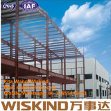 Struttura di costruzione d'acciaio prefabbricata con ISO9001, fascio d'acciaio ad alta resistenza della costruzione