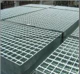 Plataforma Grating de acero galvanizada sumergida caliente de la prolongación del andén de la fábrica