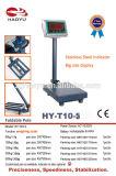 炭素鋼フレームの電子プラットホームの重量を量るスケール100kg 20g