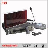Unidad simultánea Si-I8304 Singden de la consola del intérprete del equipo de la traducción de la calidad excelente