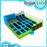 Air Kids Trampoline / Jumping Bed para uso comercial