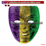 Party Gift Halloween Mask Glitter Jester Mardi Gras Party Masks (C4054)