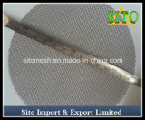 ステンレス鋼の編まれた金網の単層のディスク・フィルタ