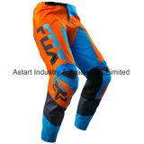 Pantaloni personalizzabili di motocross dell'OEM dell'attrezzo di qualità arancione Mx/MTB (MAP26)