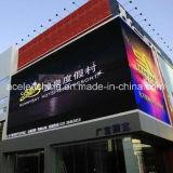 Напольный полный цвет P10 СИД рекламируя установленную стену индикации