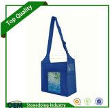 Sacs non tissés durables de course d'emballage avec la courroie de Velcro