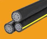 ABC-Kabel-zusammengerolltes Leiter Alluminum Luftkabel 25mm2