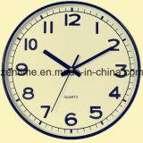 Reloj plástico de Hunging de la pared para la decoración casera