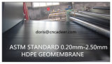 1mm Zwarte HDPE Geomembrane