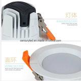Nueva luz montada de SMD LED abajo, 2.5 pulgadas 5W 110lm/W LED Downlight