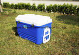 портативный мешок коробки охладителя перемещения вагонетки 62L с колесом