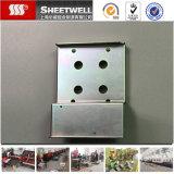 Fabrication de produits galvanisée par coutume d'étirage profond en métal de tôle d'acier d'OEM