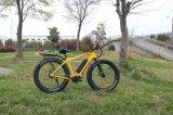 "26 "" 4.0 Bafun中間駆動機構モーター高速脂肪質のタイヤ350W山の電気バイクか自転車"
