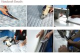 Colchón de resorte de alta densidad del bolsillo del algodón del masaje con los muebles magníficos del hotel de la cubierta de tela de la franela, Fb600