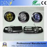 Lâmpada Running dianteira da luz de névoa +Daytime do diodo emissor de luz da grade para 99-04 VW Jetta Bora Mk4