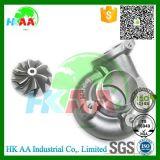 Колесо компрессора высокой эффективности Ts16949, алюминиевое колесо компрессора турбонагнетателя
